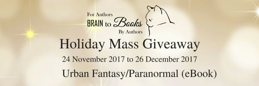 Brain to Books Holiday Urban Fantasy Paranormal Giveaway